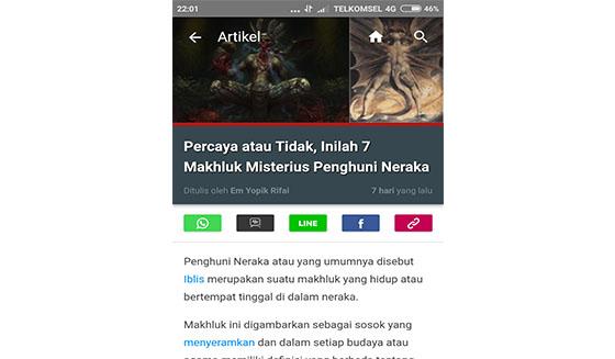 menu sharing Jalantikus