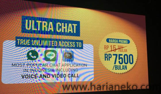 Lifestyle Add On Paket Sosial Media Jaringan 4G LTE Kecepatan 300Mbps