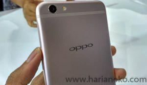 Bagian Kamera Utama Oppo F3 Plus Gold