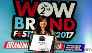 Lilies Surjono selaku Head Of Marketing Communication PT Link Net