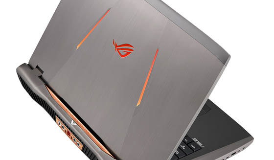 Warna metalic grey ASUS ROG GX800