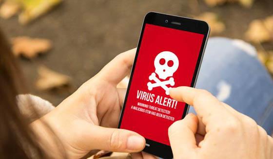 Cara masuk virus smartphone android