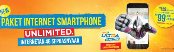 BOLT 4G Plus Unlimited Internet untuk smartphone