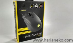 Banner Mouse Corsair Harpoon RGB