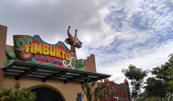 Ala Timbuktu Transera Waterpark Bekasi