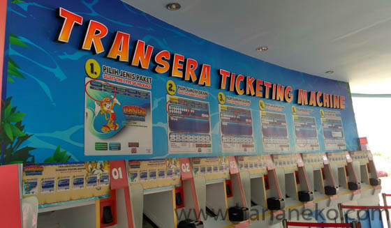 E-ticketing Transera Waterpark