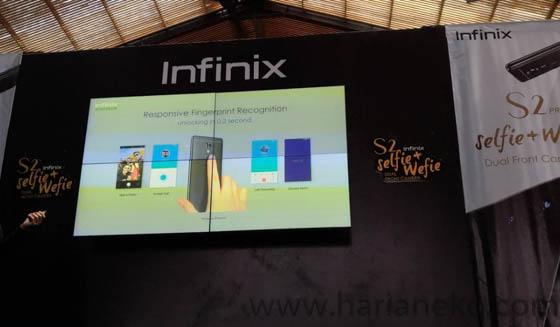 Fingerprint Infinix S2 Pro