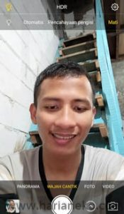 Pengaturan wajah Vivo V5s