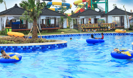 Zambesi River Transera Waterpark Bekasi