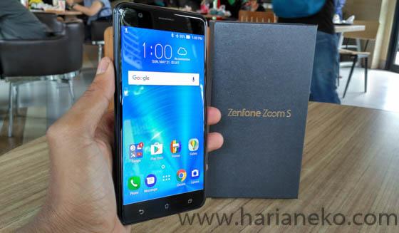 Layar ASUS Zenfone Zoom S