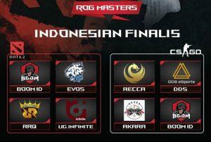 Finalis ASUS ROG Masters 2017