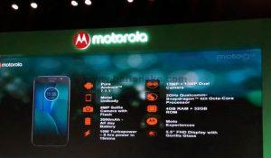 Spesifikasi Moto G5s Plus