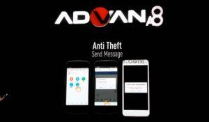 Anti Theft Advan A8