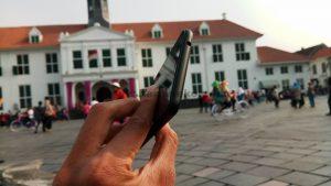 Sisi atas Meizu M5C Indonesia