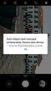 Warning Suhu Meizu M5C Indonesia