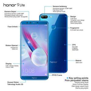 Spesifikasi Honor 9 Lite