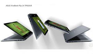 Mode ASUS VivoBook Flip 14 TP410UR