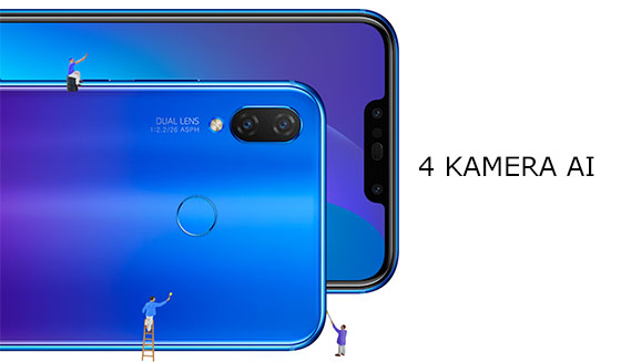 kamera Huawei Nova 3i Indonesia