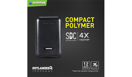 Powerbank HIPPO Outlander 2