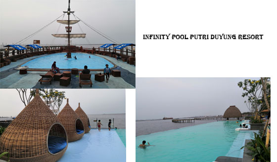 Infinity Pool Putri Duyung Resort