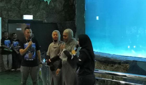 Penyelam Feeding Show Shark