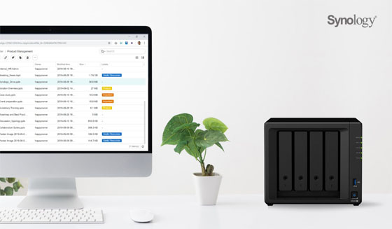 Network Attached Storage Synology