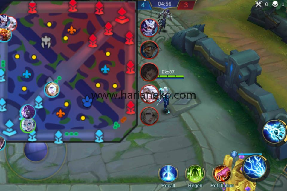 Cara main game mobile legends pemula