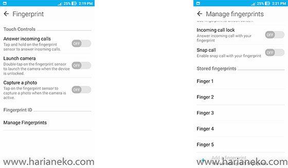 Fingerprint cepat ASUS Zenfone 3 Max ZC553kl