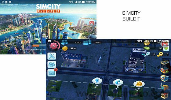 Game SImCity Buildit