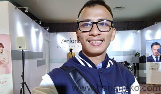 Hasil kamera depan ASUS Zenfone Zoom S