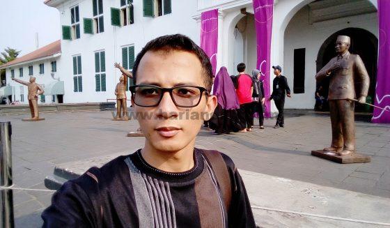 Hasil kamera depan Meizu M5C Indonesia