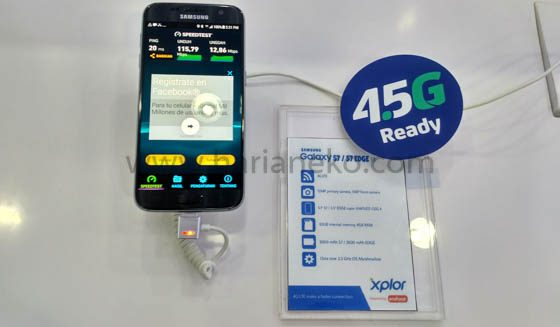 Kecepatan Jaringan XL 4,5G