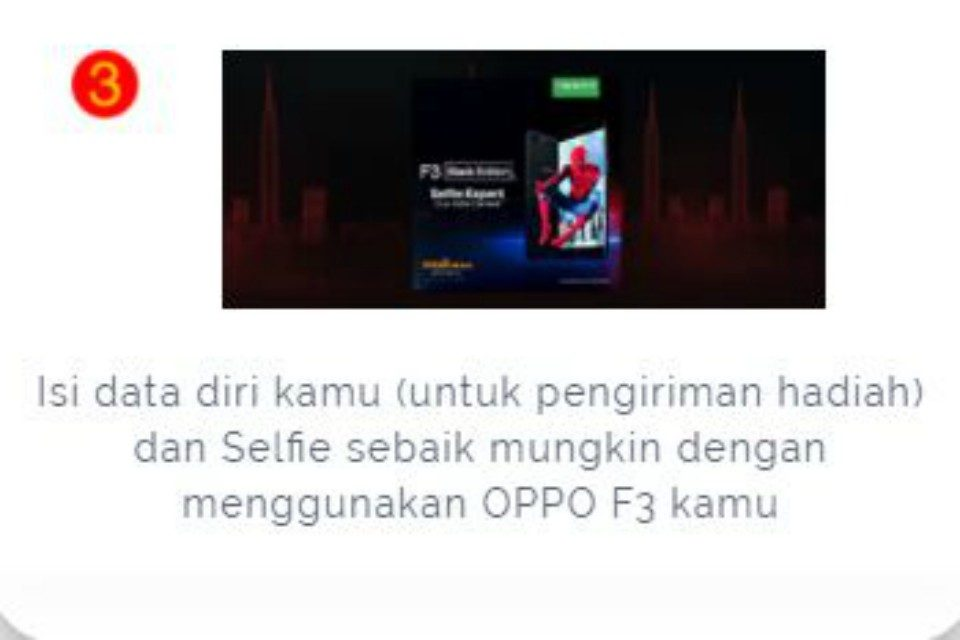 Lomba OPPO F3 foto by OPPO Indonesia