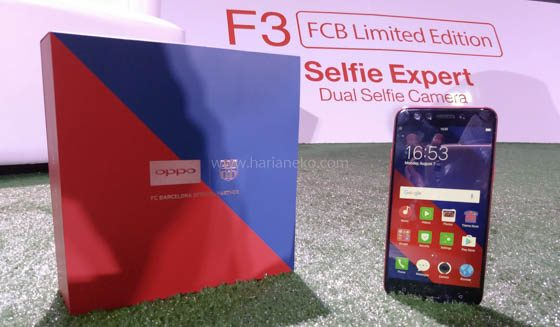 OPPO F3 Barcelona Limited Edition