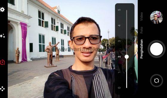 Setting Kamera depan Meizu M5C Indonesia